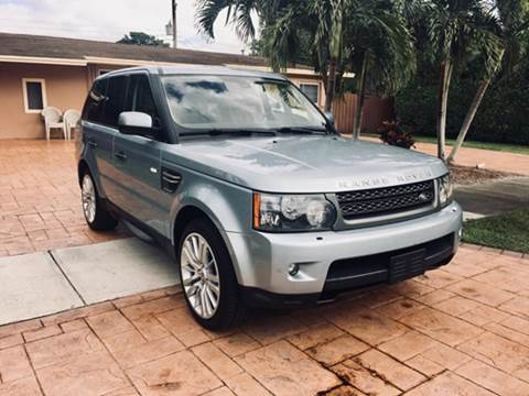 2011 Land Rover Range Rover Sport for sale at MIAMI IMPORTS in Miami FL