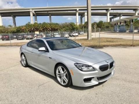 2015 BMW 6 Series for sale at MIAMI IMPORTS in Miami FL