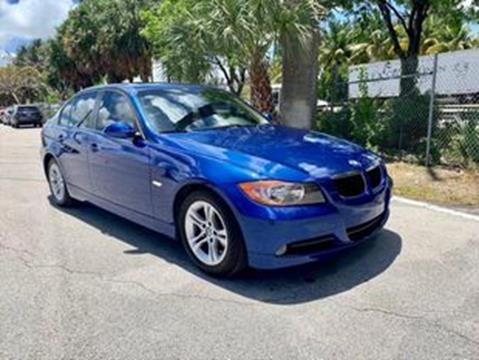 2008 BMW 3 Series for sale at MIAMI IMPORTS in Miami FL