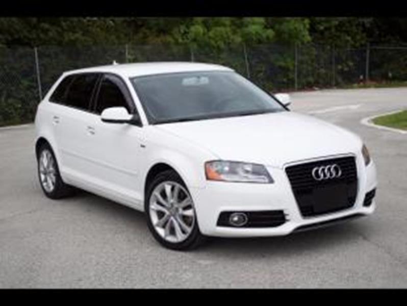 2012 Audi A3 for sale at MIAMI IMPORTS in Miami FL