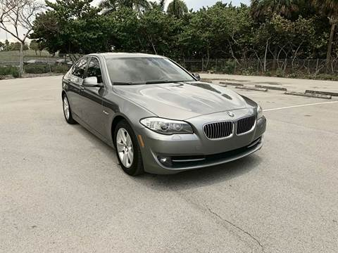 2013 BMW 5 Series for sale at MIAMI IMPORTS in Miami FL