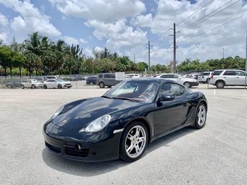 2008 Porsche Cayman for sale in Miami, FL