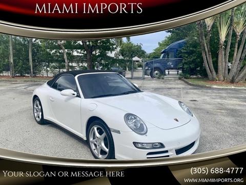 2008 Porsche 911 for sale in Miami, FL