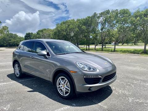 2011 Porsche Cayenne for sale at MIAMI IMPORTS in Miami FL