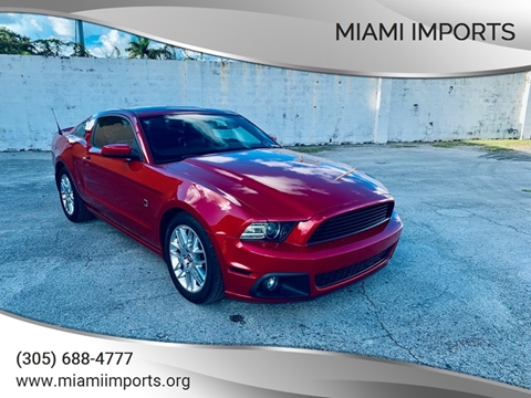 2013 Ford Mustang for sale at MIAMI IMPORTS in Miami FL