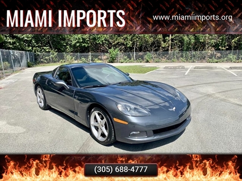 2011 Chevrolet Corvette for sale at MIAMI IMPORTS in Miami FL