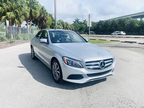 2016 Mercedes-Benz C-Class for sale at MIAMI IMPORTS in Miami FL