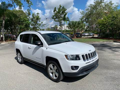 2015 Jeep Compass for sale at MIAMI IMPORTS in Miami FL