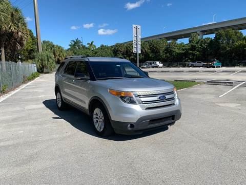 2013 Ford Explorer for sale at MIAMI IMPORTS in Miami FL