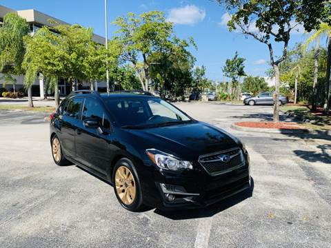 2015 Subaru Impreza for sale at MIAMI IMPORTS in Miami FL