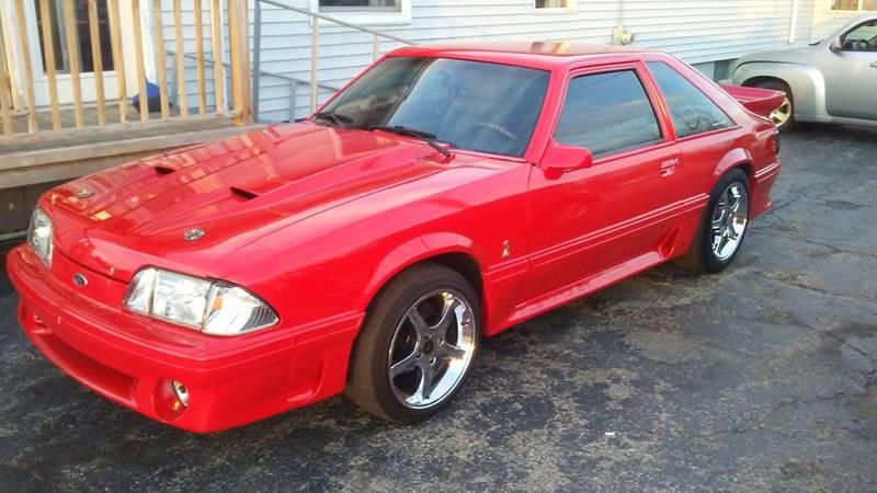 1989 Ford Mustang GT 2dr Hatchback - Troy OH & 1989 Ford Mustang GT 2dr Hatchback In Troy OH - Burtonu0027s Used Cars markmcfarlin.com
