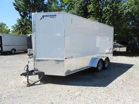 2019 Homesteader Intrepid 7x16 OHV (White) for sale in Jeffersontown, KY