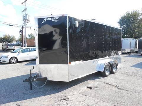 2019 Homesteader Intrepid 7x16 OHV (Black) for sale in Jeffersontown, KY