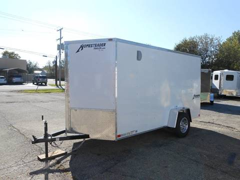 2019 Homesteader Intrepid 6X12 (MC) White for sale in Jeffersontown, KY