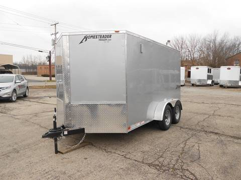 2019 Homesteader Intrepid 7x12 Silver for sale in Jeffersontown, KY