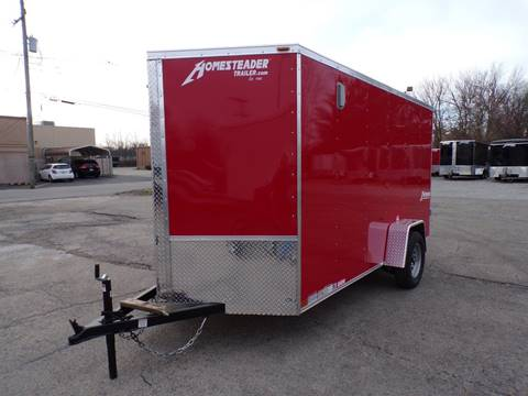 2019 Homesteader Intrepid 6x12 Red for sale in Jeffersontown, KY