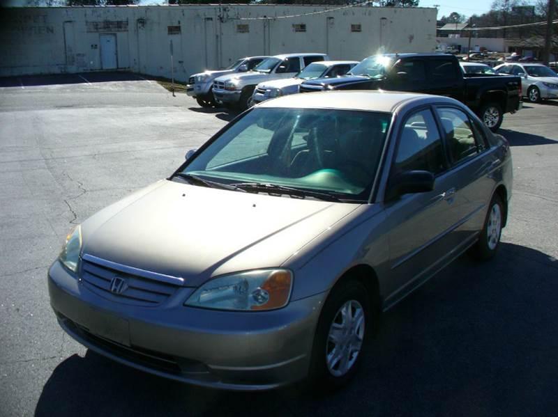 2003 Honda Civic LX 4dr Sedan - Anderson SC