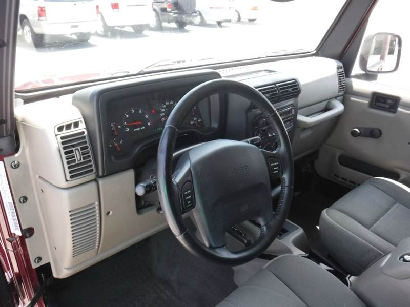 2003 Jeep Wrangler Sahara 4WD 2dr SUV - Anderson SC