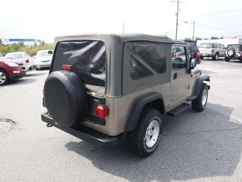 2005 Jeep Wrangler Unlimited 4WD 2dr SUV - Anderson SC