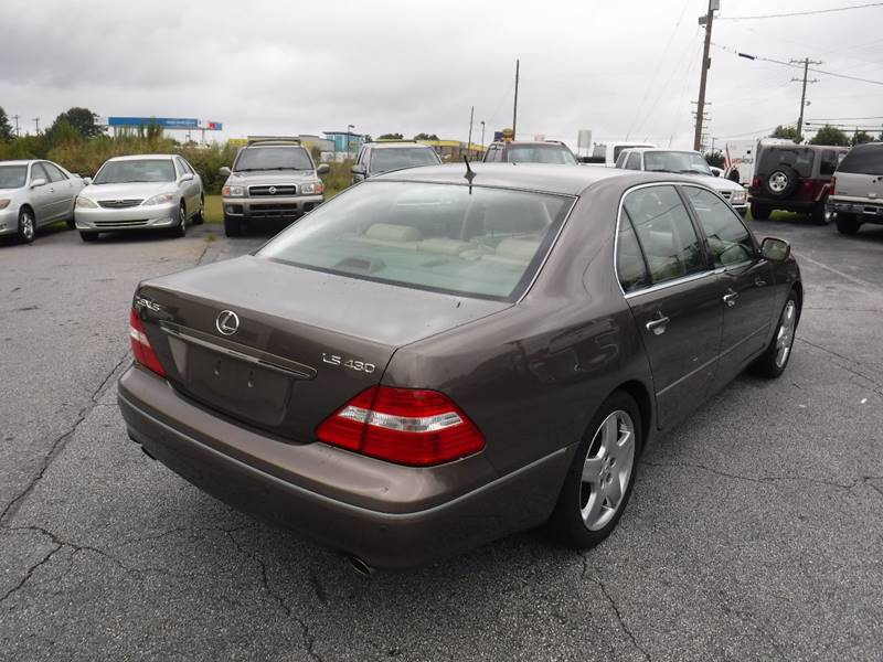 2006 lexus ls 430 4dr sedan in anderson sc brewster used cars. Black Bedroom Furniture Sets. Home Design Ideas