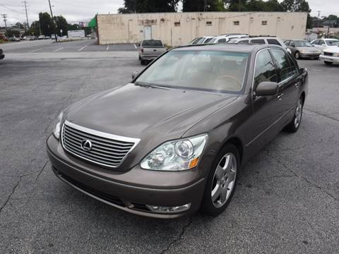 2006 lexus ls 430 4dr sedan in anderson sc - brewster used cars