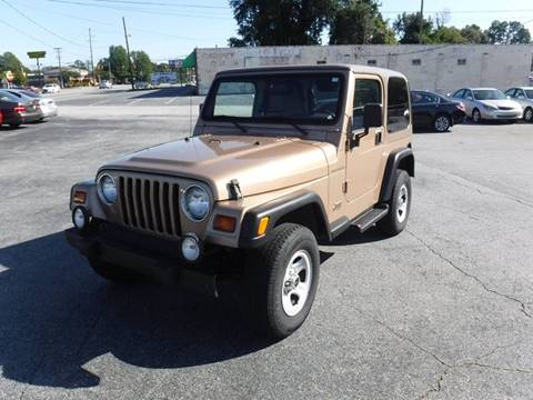 1999 Jeep Wrangler for sale in Anderson, SC