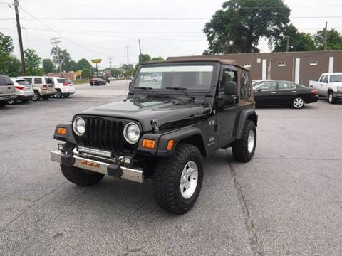 2006 Jeep Wrangler for sale in Anderson, SC