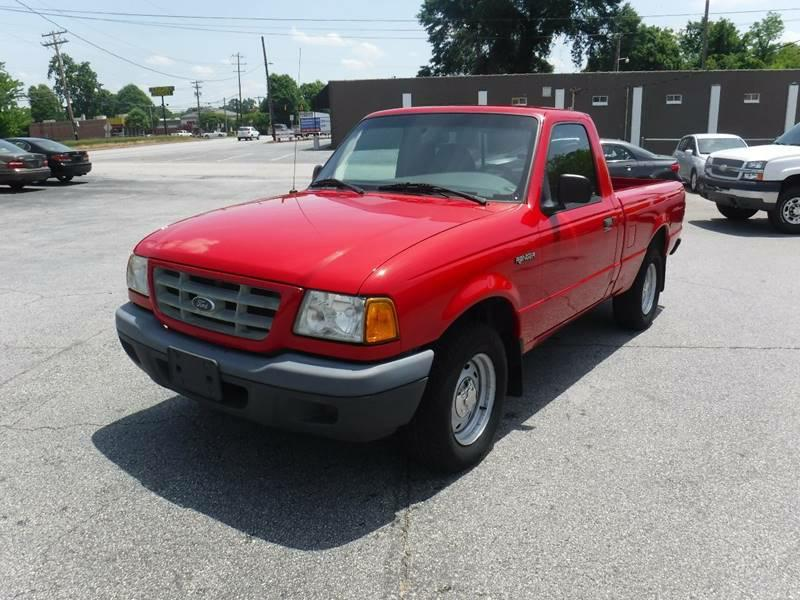 2002 Ford Ranger 2dr Standard Cab XL 2WD SB In Anderson SC ...
