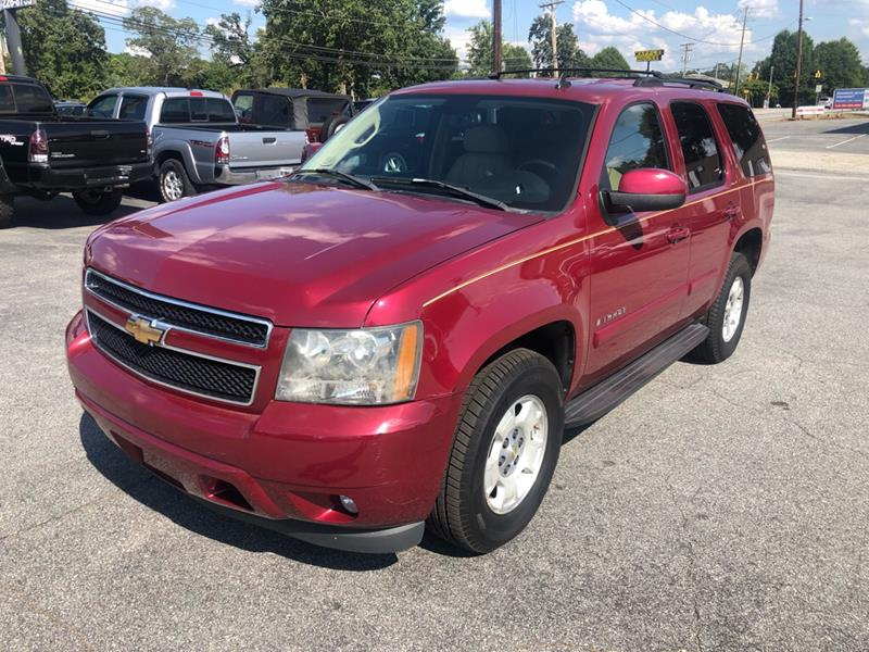 2007 Chevrolet Tahoe Lt 4dr Suv 4wd In Anderson Sc