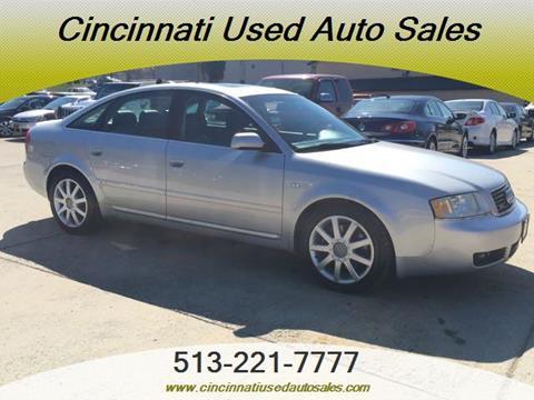2004 Audi A6 for sale in Cincinnati, OH