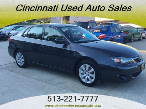 2008 Subaru Impreza for sale in Cincinnati, OH
