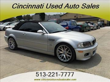 2002 BMW M3 for sale in Cincinnati, OH