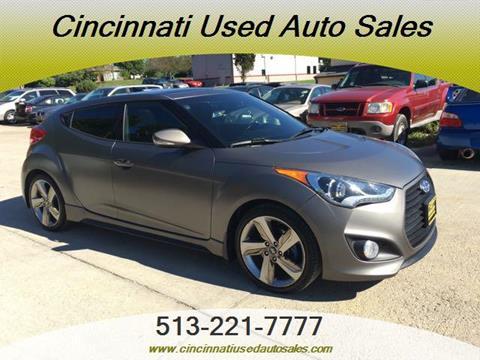 2014 Hyundai Veloster Turbo for sale in Cincinnati, OH
