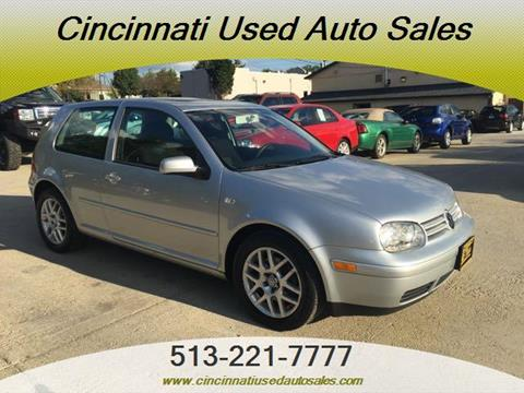 2002 Volkswagen GTI for sale in Cincinnati, OH