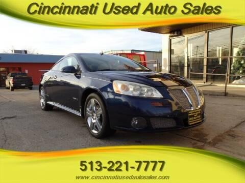 2008 Pontiac G6 for sale at Cincinnati Used Auto Sales in Cincinnati OH