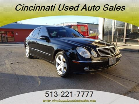 Used mercedes benz e class for sale in cincinnati oh for Used mercedes benz for sale in cincinnati