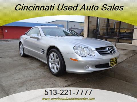 2003 mercedes benz sl class for sale in ohio for Used mercedes benz for sale in cincinnati
