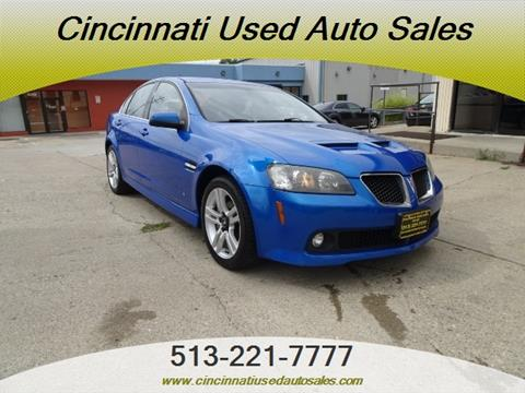 2009 Pontiac G8 for sale in Cincinnati, OH