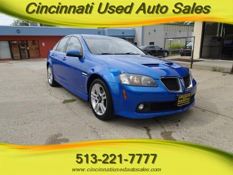 2009 Pontiac G8 for sale in Cincinnati, OH