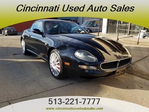 2002 Maserati Coupe For Sale In Cincinnati OH