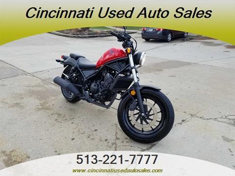 2017 Honda Rebel for sale in Cincinnati, OH