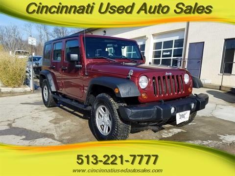 2010 Jeep Wrangler Unlimited for sale in Cincinnati, OH