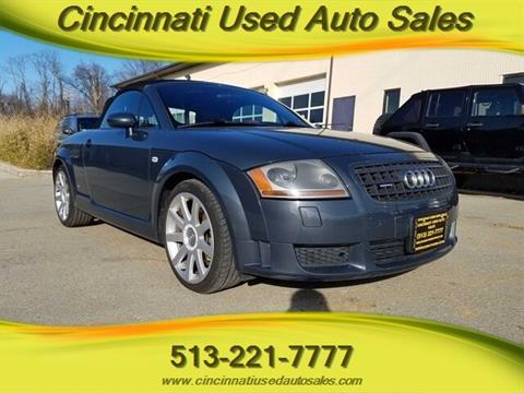 Tt Auto Sales >> Audi Tt For Sale In Cincinnati Oh Cincinnati Used Auto Sales