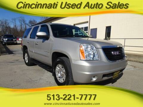 2008 GMC Yukon for sale at Cincinnati Used Auto Sales in Cincinnati OH