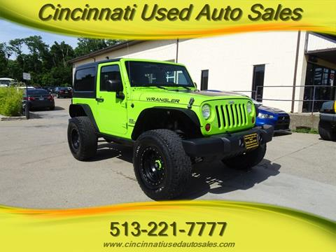 2012 Jeep Wrangler for sale in Cincinnati, OH