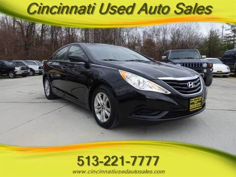 2012 Hyundai Sonata for sale at Cincinnati Used Auto Sales in Cincinnati OH