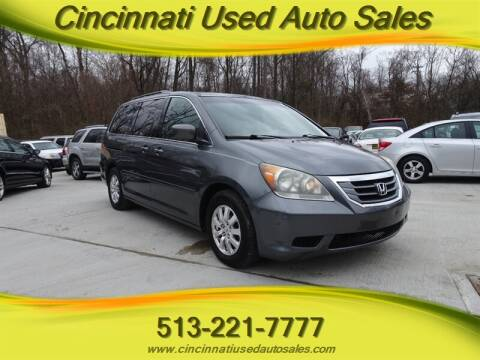 2010 Honda Odyssey for sale at Cincinnati Used Auto Sales in Cincinnati OH