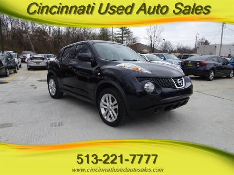 2014 Nissan JUKE for sale at Cincinnati Used Auto Sales in Cincinnati OH