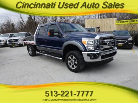 2011 Ford F-250 Super Duty for sale at Cincinnati Used Auto Sales in Cincinnati OH