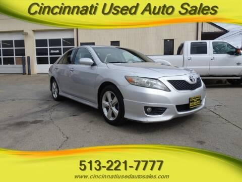 2011 Toyota Camry for sale at Cincinnati Used Auto Sales in Cincinnati OH